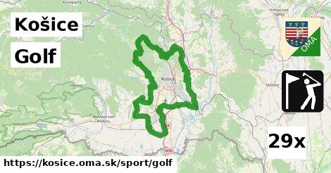 Golf, Košice