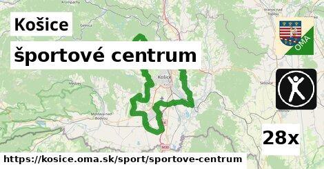 športové centrum, Košice