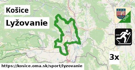 ilustračný obrázok k Lyžovanie, Košice