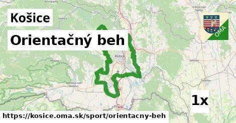 ilustračný obrázok k Orientačný beh, Košice