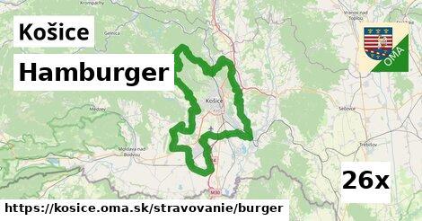 Hamburger, Košice