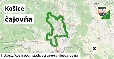 čajovňa, Košice