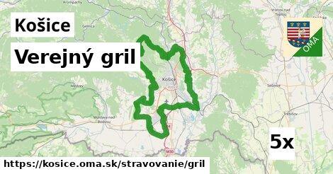 Verejný gril, Košice