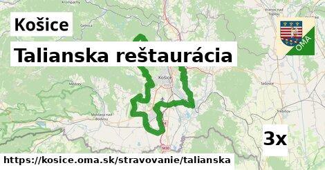 Talianska reštaurácia, Košice