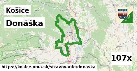 donáška v Košice