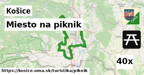 miesto na piknik v Košice