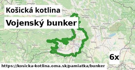 ilustračný obrázok k Vojenský bunker, Košická kotlina
