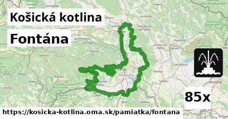 ilustračný obrázok k Fontána, Košická kotlina