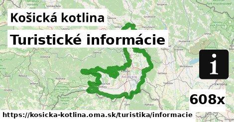ilustračný obrázok k Turistické informácie, Košická kotlina