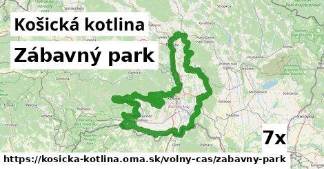 ilustračný obrázok k Zábavný park, Košická kotlina