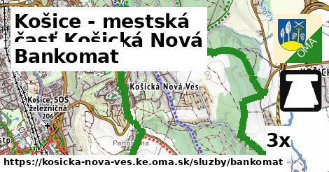 bankomat v Košice - mestská časť Košická Nová Ves