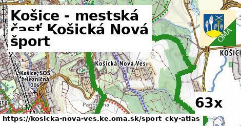 šport v Košice - mestská časť Košická Nová Ves