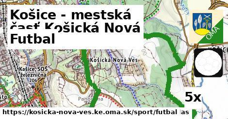 futbal v Košice - mestská časť Košická Nová Ves