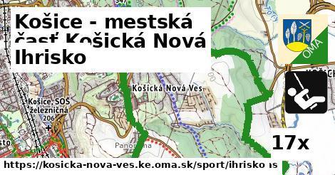 ihrisko v Košice - mestská časť Košická Nová Ves