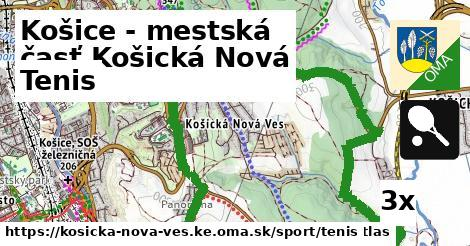tenis v Košice - mestská časť Košická Nová Ves