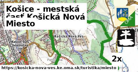 miesto v Košice - mestská časť Košická Nová Ves