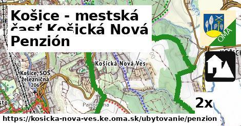 penzión v Košice - mestská časť Košická Nová Ves