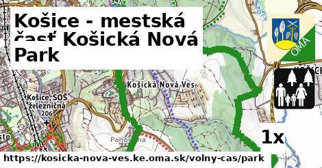 park v Košice - mestská časť Košická Nová Ves