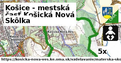 skôlka v Košice - mestská časť Košická Nová Ves