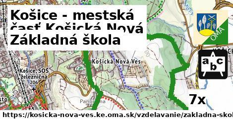základná škola v Košice - mestská časť Košická Nová Ves