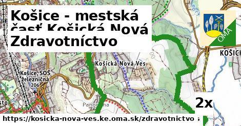 zdravotníctvo v Košice - mestská časť Košická Nová Ves