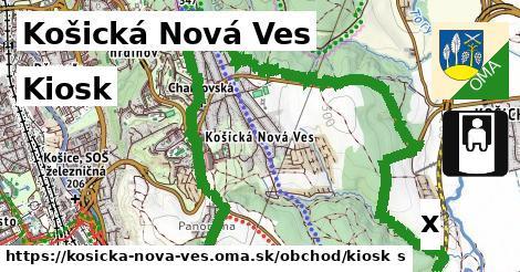 kiosk v Košická Nová Ves