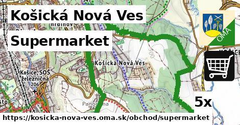 ilustračný obrázok k Supermarket, Košická Nová Ves