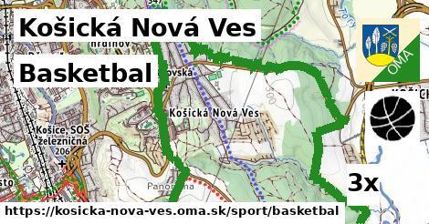 ilustračný obrázok k Basketbal, Košická Nová Ves