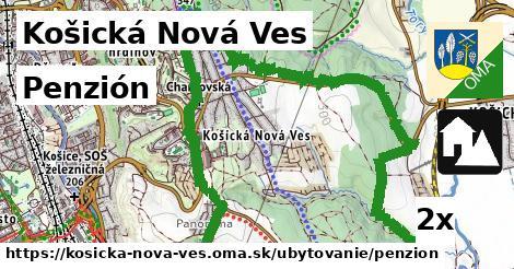 penzión v Košická Nová Ves