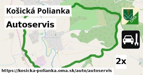 ilustračný obrázok k Autoservis, Košická Polianka