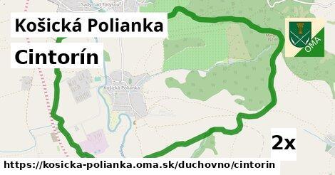 ilustračný obrázok k Cintorín, Košická Polianka