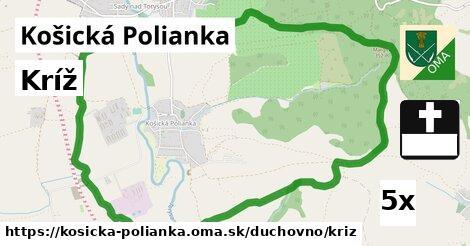 ilustračný obrázok k Kríž, Košická Polianka