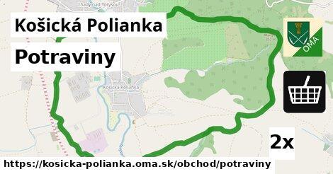 ilustračný obrázok k Potraviny, Košická Polianka