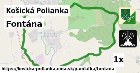 ilustračný obrázok k Fontána, Košická Polianka