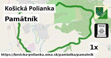 ilustračný obrázok k Pamätník, Košická Polianka