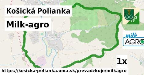 ilustračný obrázok k Milk-agro, Košická Polianka