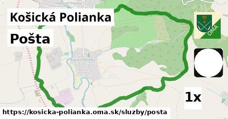 ilustračný obrázok k Pošta, Košická Polianka