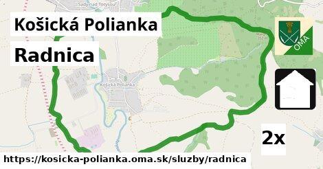 ilustračný obrázok k Radnica, Košická Polianka