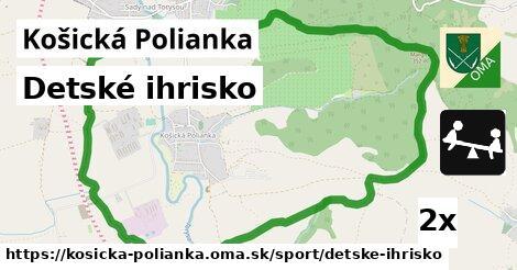 ilustračný obrázok k Detské ihrisko, Košická Polianka