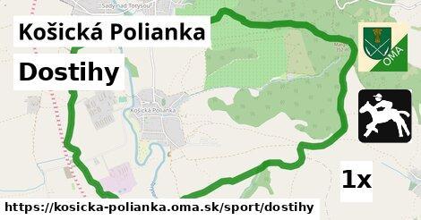 ilustračný obrázok k Dostihy, Košická Polianka