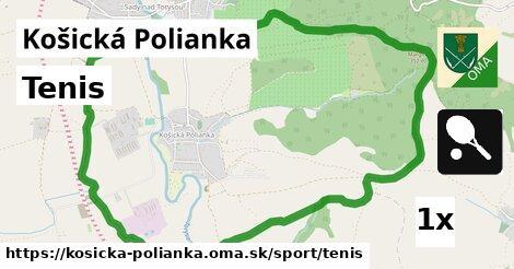 ilustračný obrázok k Tenis, Košická Polianka