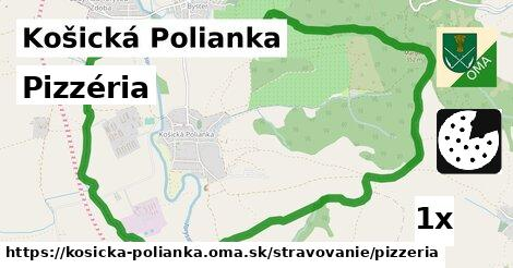 ilustračný obrázok k Pizzéria, Košická Polianka