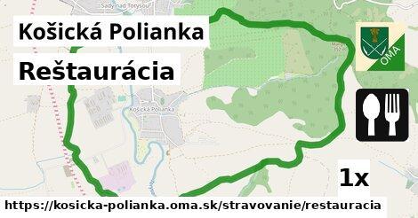 ilustračný obrázok k Reštaurácia, Košická Polianka