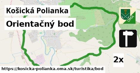 ilustračný obrázok k Orientačný bod, Košická Polianka