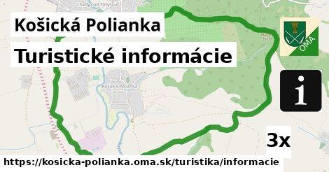 ilustračný obrázok k Turistické informácie, Košická Polianka