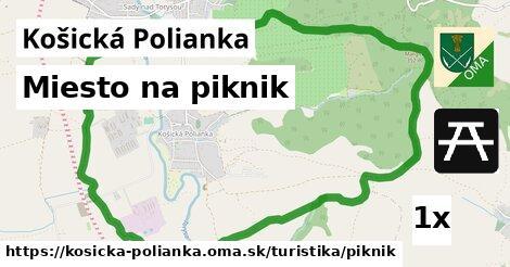 ilustračný obrázok k Miesto na piknik, Košická Polianka
