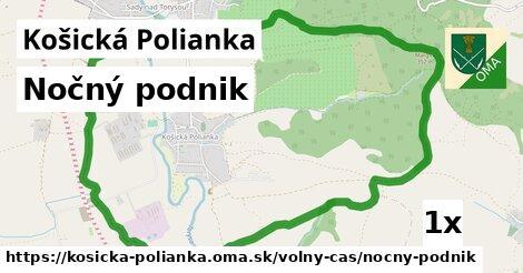 nočný podnik v Košická Polianka