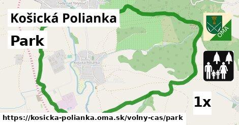 ilustračný obrázok k Park, Košická Polianka