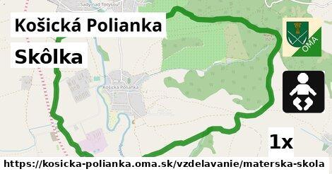 ilustračný obrázok k Skôlka, Košická Polianka