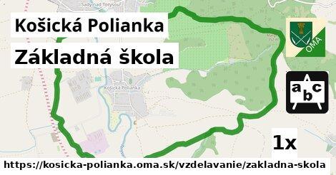 ilustračný obrázok k Základná škola, Košická Polianka